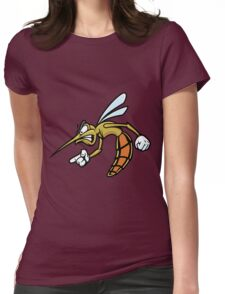 Angry Mosquito Womens Fitted T-Shirt