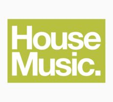 House Music Kids Clothes