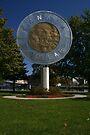 Canadian $2 Coin - - Campbellford Ontario by Allen Lucas