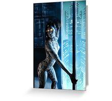 Cyberpunk Painting 046 Greeting Card