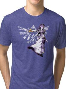Triforce of Wisdom Tri-blend T-Shirt