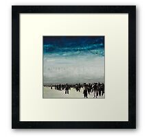 WHAT ARE WE WAITING FOR Framed Print