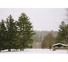 Green Mountain Winter Photographic Print