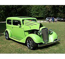 1935 Chevrolet Coupe Street Rod Photographic Print