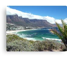 Camps Bay and the Twelve Apostles Canvas Print