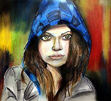 Sarah Manning Hiding in Plain Sight. Orphan Black by crayonbreaking
