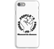 People's Front of Judea White/Black text iPhone Case/Skin