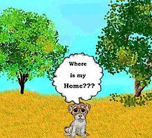 Lonely Puppy by dignamar