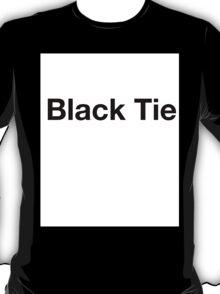 Black Tie T-Shirt