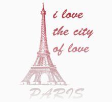 paris - i love the city of love Kids Clothes