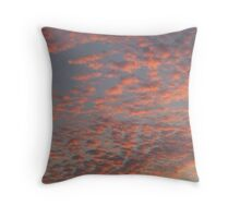 Marmalade sky Throw Pillow