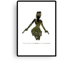 Tomb Raider I Canvas Print