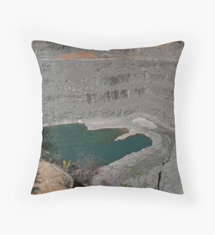 Rock Quarry Throw Pillow