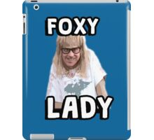 Garth Algar Wayne's World Foxy Lady iPad Case/Skin