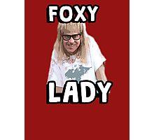 Garth Algar Wayne's World Foxy Lady Photographic Print