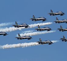 Frecce Tricolori  by Mike Rivett