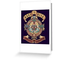 Appetite for damnation Greeting Card