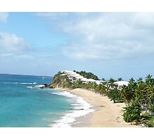 Sensational Tortola beach Photographic Print