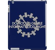 Inspired by Interstellar - Do Not Go Gentle... iPad Case/Skin