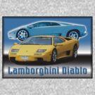 Lamborghini Diablo by Waves