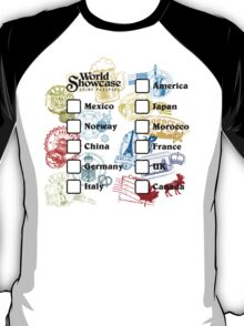 Drink Around the World - EPCOT Passport T-Shirt