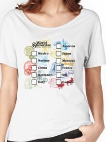 Drink Around the World - EPCOT Passport Women's Relaxed Fit T-Shirt