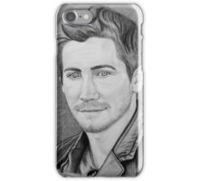 Jake Gyllenhaal Portrait iPhone Case/Skin
