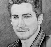 Jake Gyllenhaal Portrait by SD 2010 Photography & Equine Art Creations