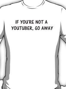 youtuber black T-Shirt