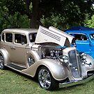 1934 Buick Model 57 Sedan by Glenna Walker