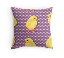 Chiken pattern Throw Pillow