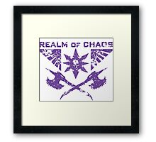 Realm of Chaos Framed Print