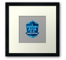 Tomorrowland Transit Authority - Peoplemover Framed Print