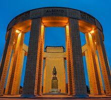 King Albert I Monument, Nieuwpoort by Bert Beckers