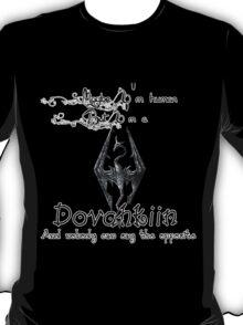 Always a Dovahkiin - TES V: Skyrim. T-Shirt