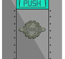Tomorrowland Trash Can ( PUSH ) by tonysimonetta