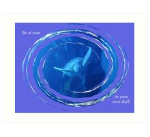 At Ease In Your Own Shell Art Print