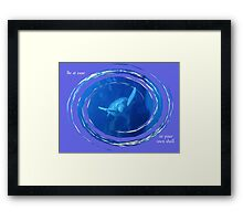 At Ease In Your Own Shell Framed Print