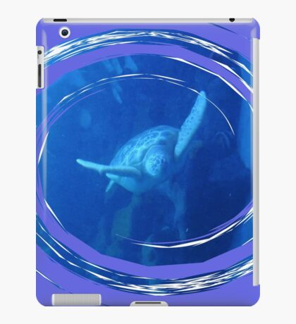 At Ease In Your Own Shell iPad Case/Skin