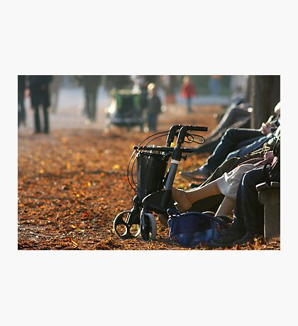 Break From Mobility Photographic Print