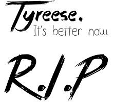 RIP - Tyreese by R-E-D