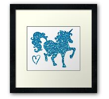 Indigo Dream Framed Print