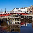 The Swing Bridge. by John (Mike)  Dobson