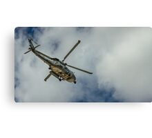 Militar helicopter Canvas Print