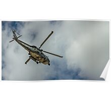 Militar helicopter Poster