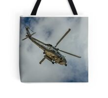 Militar helicopter Tote Bag