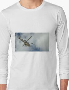 Militar helicopter Long Sleeve T-Shirt