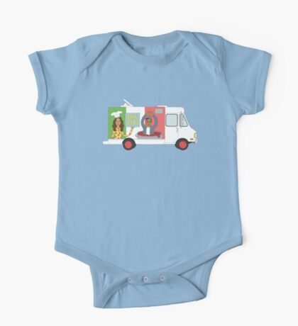 Jay - Z iti Food Truck One Piece - Short Sleeve