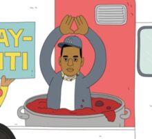 Jay - Z iti Food Truck Sticker