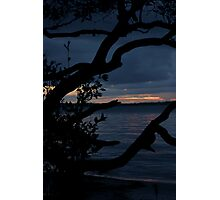 Night Falls Upon Us Photographic Print